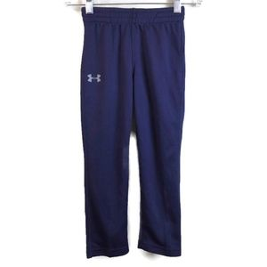 Under Amour Boys 4 Athletic Pant Blue Track Sweat
